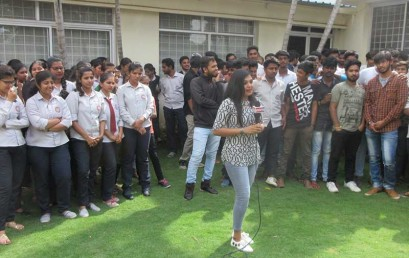 """""""Campus Programme"""" conducted by Indian TV Channel"""