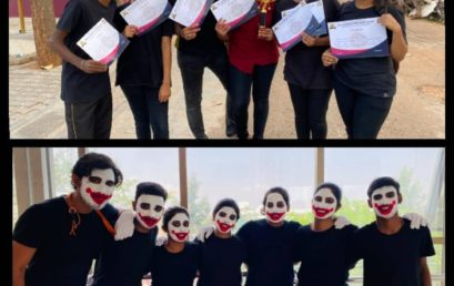 Second Place in MIME Event